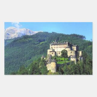 Hohenwerfen Castle Rectangular Sticker