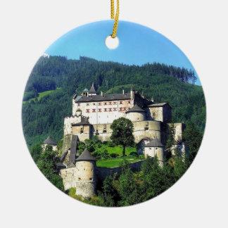 Hohenwerfen Castle Round Ceramic Decoration