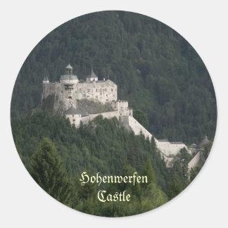 Hohenwerfen Castle Round Sticker