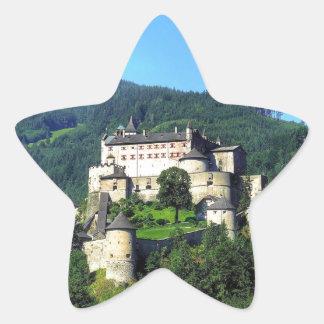 Hohenwerfen Castle Star Sticker