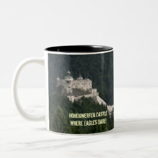 Hohenwerfen Castle Two-Tone Mug
