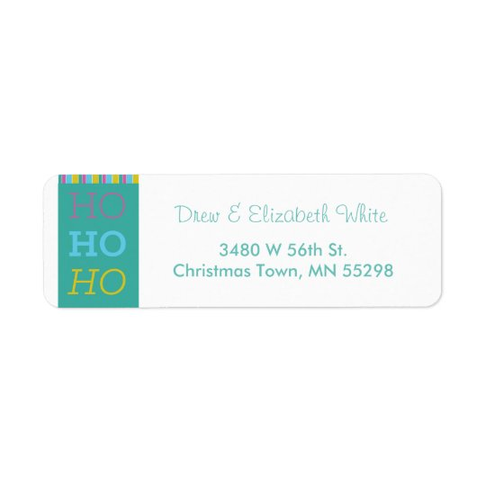 HOHOHO Holiday Labels