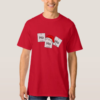 HoHoHo Holmium Chemistry Element Christmas Pun T-Shirt