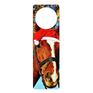 hohoho Horse 2 Door Hanger