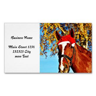hohoho Horse Magnetic Business Cards