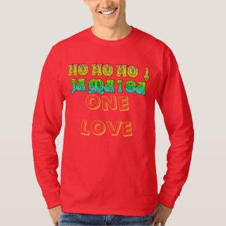 HoHoHo Jamaica One love Merry Christmas Colors Tshirt