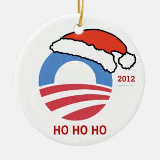 HoHoHo Obama Personalized Ornament