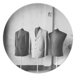 Hoi An Vietnam, Suit jackets made to order! Plate