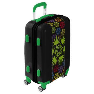 Hoja colores arcoiris vectorial de planta. Plant. Luggage