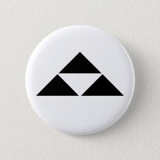 Hojo scale 6 cm round badge