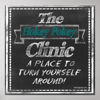 Hokey Pokey Clinic Poster