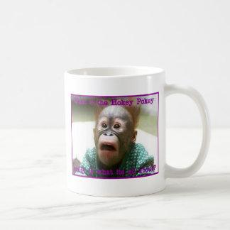 Hokey Pokey Orangutan Basic White Mug