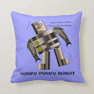 Hokey Pokey Robot Cushion
