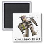 Hokey Pokey Robot Refrigerator Magnet