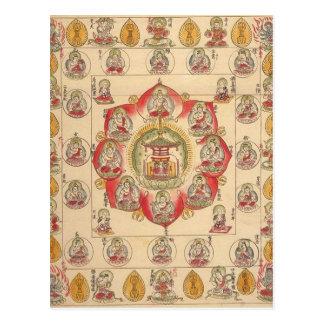 Hokke Mandala Postcards