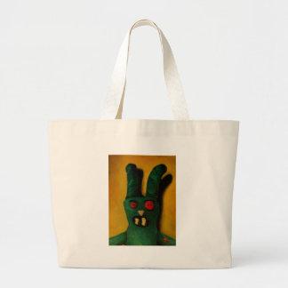 Hoku Zombie Bunny 1 Jumbo Tote Bag