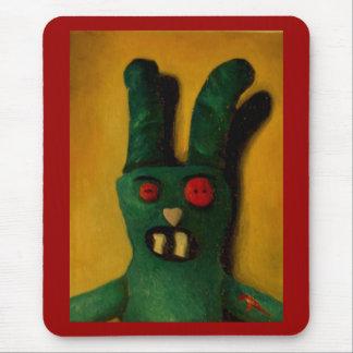 Hoku Zombie Bunny 1 Mouse Pads