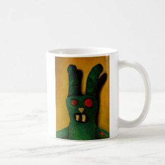 Hoku Zombie Bunny 1 Coffee Mugs