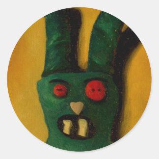 Hoku Zombie Bunny 1 Sticker