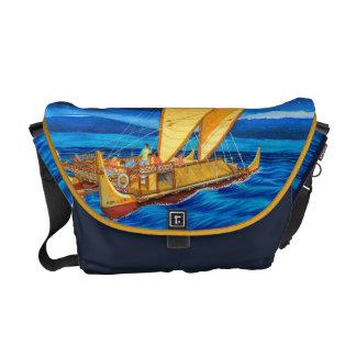 Hokulea Voyaging Canoe Commuter Bags