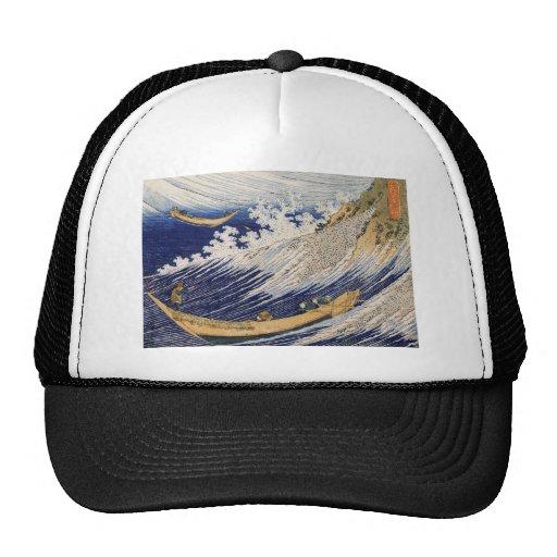 Hokusai Art painting Hat