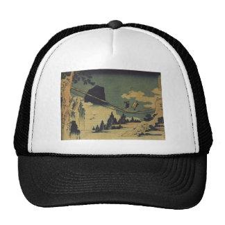 Hokusai Art painting Landscape Cap