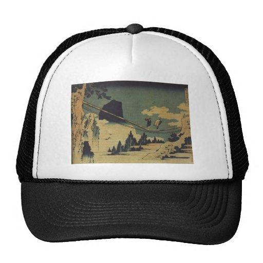 Hokusai Art painting Landscape Trucker Hat