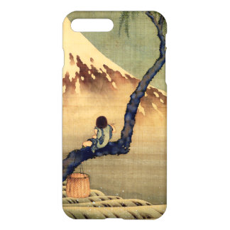 Hokusai Boy Viewing Mount Fuji Japanese Vintage iPhone 7 Plus Case
