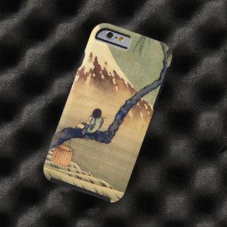 Hokusai Boy Viewing Mount Fuji Japanese Vintage Tough iPhone 6 Case