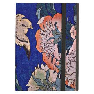 Hokusai Canary and Peony iPad Folio Cases