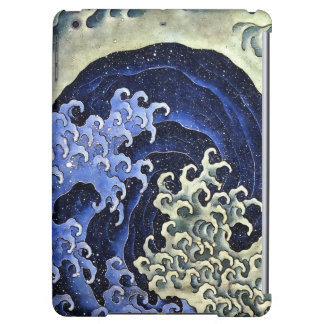 Hokusai Feminine Wave Japanese Vintage Fine Art iPad Air Case