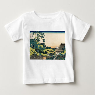Hokusai: Fuji seen from the Mishima pass Baby T-Shirt