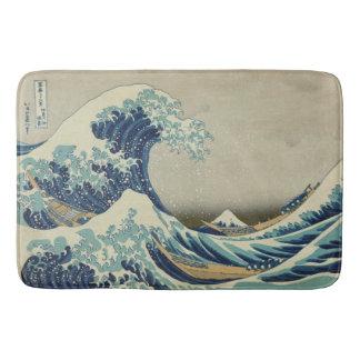 Hokusai: Great Wave Off Kanagawa Bath Mats