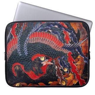 Hokusai Japanese Phoenix Laptop Sleeve