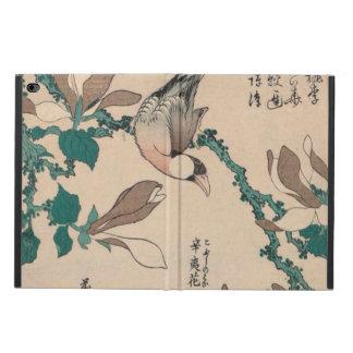 Hokusai Java Sparrow on Magnolia GalleryHD