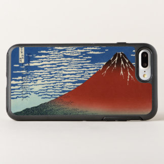 Hokusai Red Fuji, South Wind, Clear Sky GalleryHD OtterBox Symmetry iPhone 8 Plus/7 Plus Case