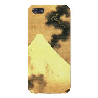 Hokusai The Dragon of Smoke Escaping Mount Fuji Case For iPhone 5/5S