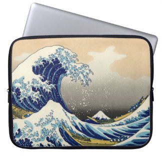Hokusai The Great Wave Laptop Sleeve