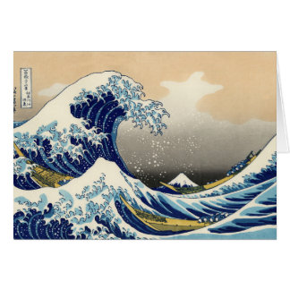 Hokusai The Great Wave Note Card