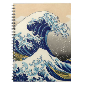 Hokusai The Great Wave Notebook