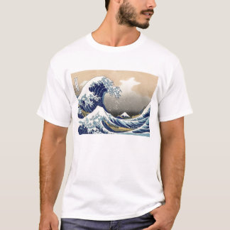 Hokusai: The great wave of Kanagawa T-Shirt