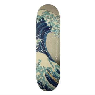 Hokusai The Great Wave off Kanagawa GalleryHD Skate Board