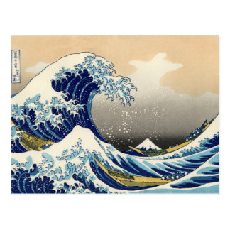 Hokusai The Great Wave Postcard