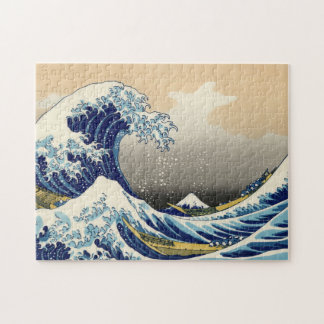 Hokusai The Great Wave Puzzle