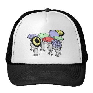 Hokusai Umbrellas Hats