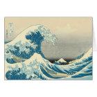 Hokusai - Under the Wave Off Kanagawa Card