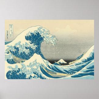 Hokusai - Under the Wave Off Kanagawa Posters