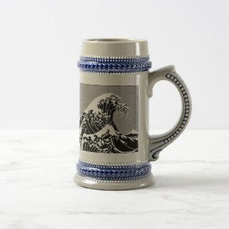 HOKUSAI WAVE COFFEE MUGS