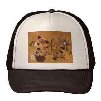 Hokusai's '7 Gods of Fortune' Trucker Hat