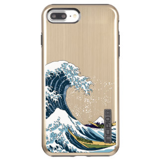 Hokusai's Great Wave off Kanagawa Incipio DualPro Shine iPhone 8 Plus/7 Plus Case